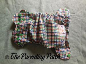 Exterior of Emerson Smart Bottoms Born Smart Newborn Diaper