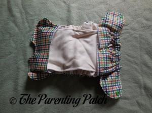 Interior of Emerson Smart Bottoms Born Smart Newborn Diaper