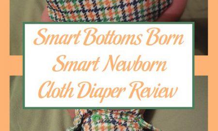 Smart Bottoms Born Smart Newborn Cloth Diaper Review