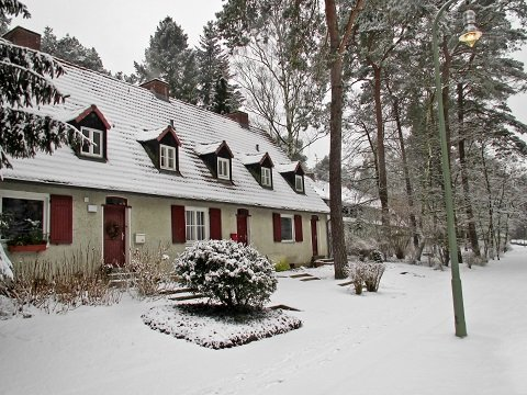 Rural Winter House
