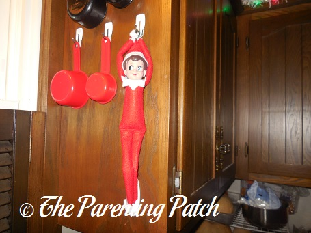 The Elf on the Measuring Cup Hook