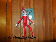 The Elf on the Key Rack: The Elf on the Shelf Day 17