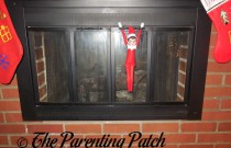 The Elf on the Fireplace: The Elf on the Shelf Day 18