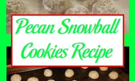 Pecan Snowball Cookies Recipe