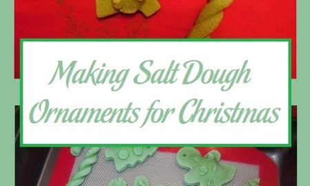 Making Salt Dough Ornaments for Christmas