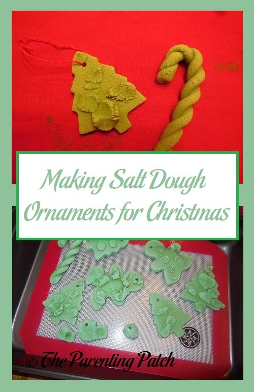 Making Salt Dough Ornaments for Christmas
