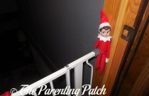 The Elf on the Baby Gate: The Elf on the Shelf Day 21