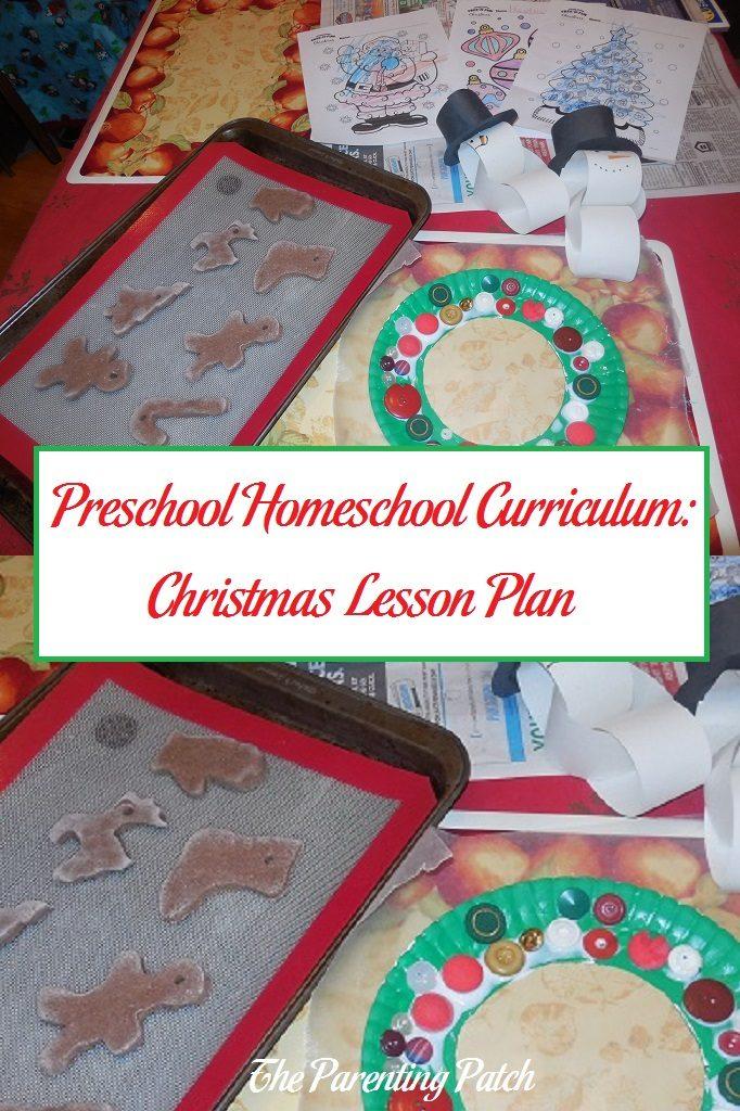 Preschool Homeschool Curriculum: Christmas Lesson Plan
