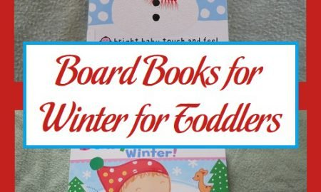 Board Books for Winter for Toddlers