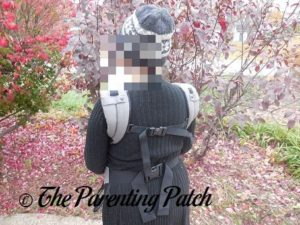 Heather Wearing Will in Front Carry in the Boba 4G Carrier 2