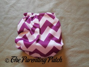 Back of Nicki's Diapers Newborn Bamboo All-in-One