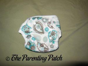 Front of Capri Newborn Diaper Cover