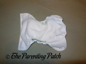 Small Buttons Diapers Insert in Capri Newborn Diaper Cover