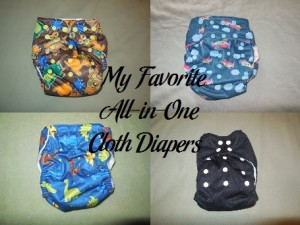 My Favorite All-in-One Cloth Diapers