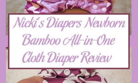 Nicki's Diapers Newborn Bamboo All-in-One Cloth Diaper Review