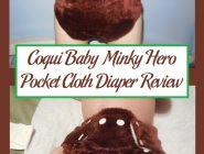 Coqui Baby Minky Hero Pocket Cloth Diaper Review