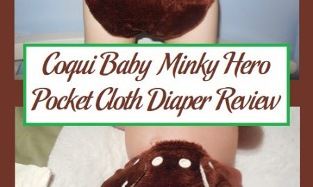 Coqui Baby Minky Hero Pocket Cloth Diaper Review