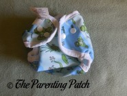 Front of Bummis Super Snap Newborn Diaper Cover