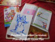 Preschool Homeschool Curriculum: Prewriting Skills Lesson Plan