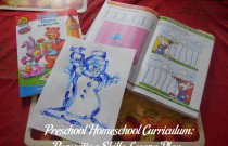 Preschool Homeschool Curriculum: Prewriting Skills Lesson Plan