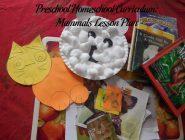 Preschool Homeschool Curriculum: Mammals Lesson Plan