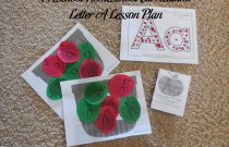 Preschool Homeschool Curriculum: Letter A Lesson Plan