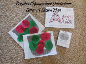 Letter A Preschool Activities