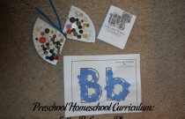 Preschool Homeschool Curriculum: Letter B Lesson Plan