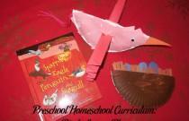 Preschool Homeschool Curriculum: Birds Lesson Plan