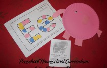 Preschool Homeschool Curriculum: Letter E Lesson Plan