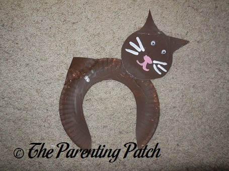 Paper Plate Cat Craft & Paper Plate Cat Craft | Parenting Patch