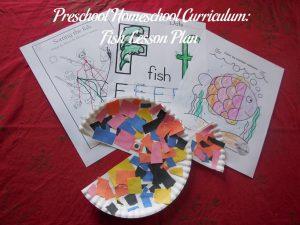 Fish Preschool Activities