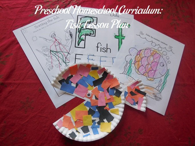 Fish Preschool Activities
