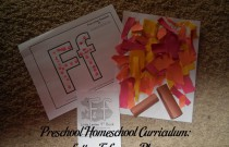 Preschool Homeschool Curriculum: Letter F Lesson Plan