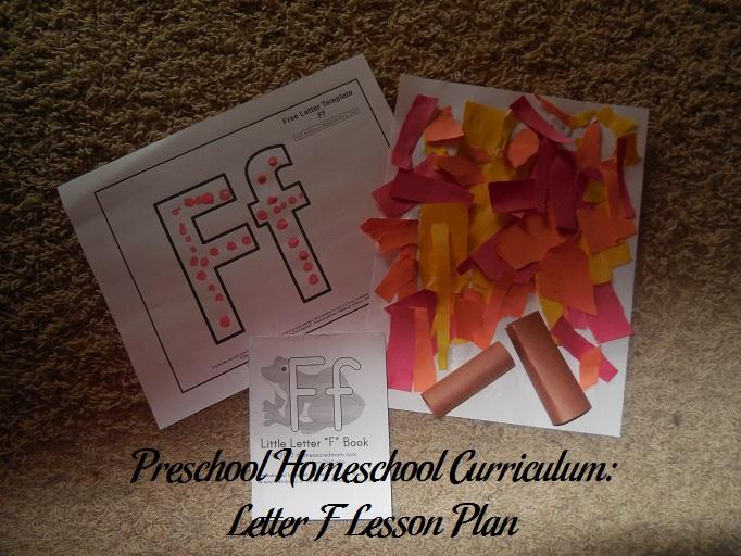 Letter F Preschool Activities