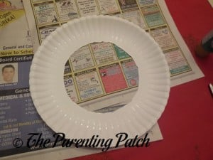 Paper Plate Without Center Circle