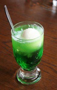 Green Cream Soda