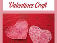 Construction Paper Valentines Craft