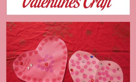 Construction Paper Valentines Craft