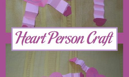 Heart Person Craft