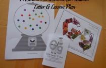 Preschool Homeschool Curriculum: Letter G Lesson Plan