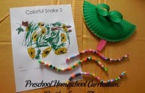 Preschool Homeschool Curriculum: Reptiles Lesson Plan