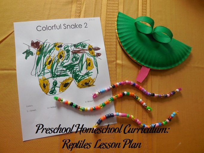 Reptile Preschool Activities