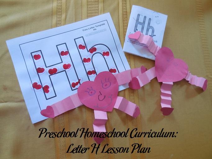 Letter H Preschool Activities