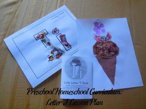 Letter I Preschool Activities