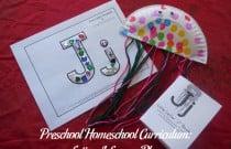 Preschool Homeschool Curriculum: Letter J Lesson Plan