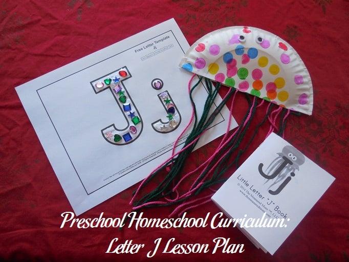 Letter J Preschool Activities