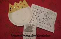 Preschool Homeschool Curriculum: Letter K Lesson Plan