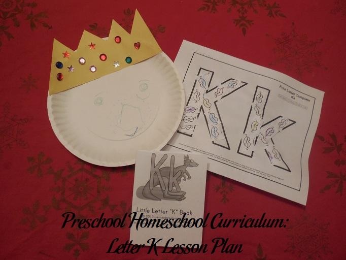 Letter K Preschool Activities