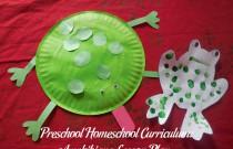 Preschool Homeschool Curriculum: Amphibians Lesson Plan